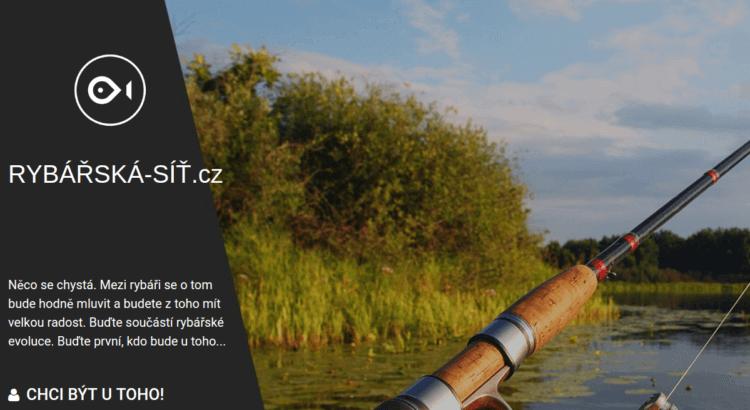 Rybářská síť Josefa Drobílka se spustí v nejbližších dnech
